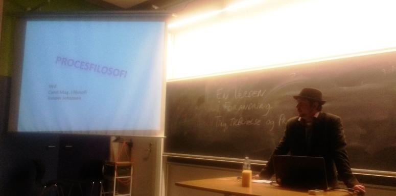 Procesfilosoffen fra forelæsningen på Syddansk Universitet 2014